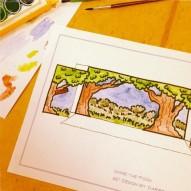 Pooh set design